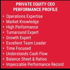 PE CEO Performance