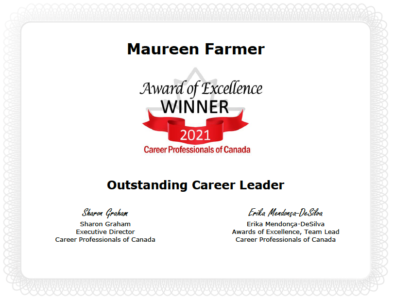 2021 outstanding leader award CPC